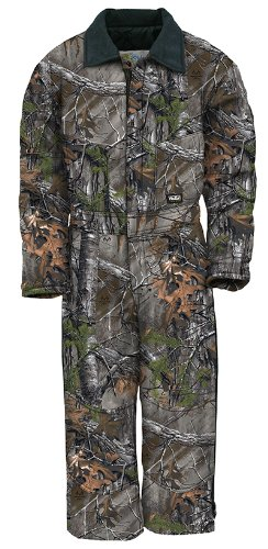 Walls Legend Boys Youth Grow with Me Insulated Coveralls Large Realtree Xtra