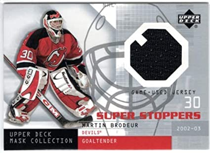 2002 03 Ud Mask Collection Super Stoppers Jerseys Ssmb Martin
