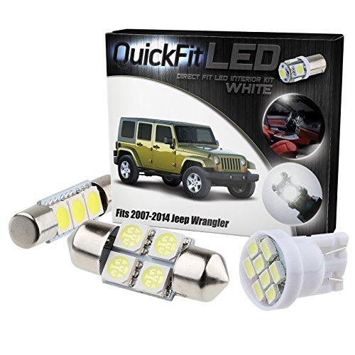 QuickFitLED LED Interior Light Kit For Jeep Wrangler JK