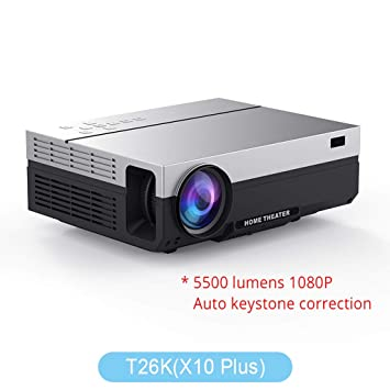 WHLDCD Proyector Proyector LED Nativo 1080p proyector Full HD ...