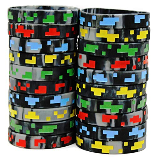 Gypsy Jade's Pixel Style Miner Video Game Silicone