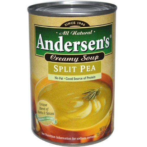 Andersen's Split Pea Soup, 15 Ounce (Pack of 12) (Best Vegetarian Split Pea Soup)