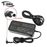 S-Union New Replacement 180W 19.5V 9.23A AC Adapter for ASUS ROG G751JT Series G750JW G750JX G750JZ Series Part Number: ADP-180MB F