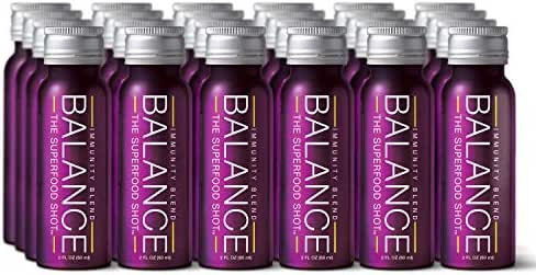 Supportive Immunity Shots w/Organic Sambucus Elderberry, Real Vitamin C & 1/2 Day of Fruits & Vegetables - 2oz Daily Immune Support Drink for Kids & Adults on The Go, Vegan, Gluten-Free (24 Pack)