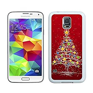 Hot Sell Christmas Tree White Samsung Galaxy S5 Case 23