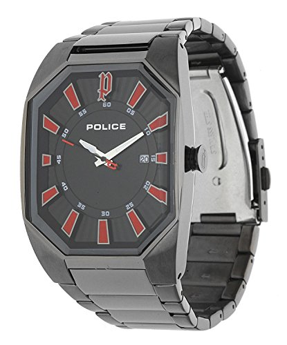 POLICE Men Watch Octane grey P13755JSU-02M