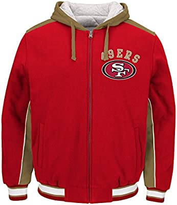 huge discount a5c38 36ff4 Amazon.com : NFL Men's San Francisco 49ers Prime Polyfilled ...
