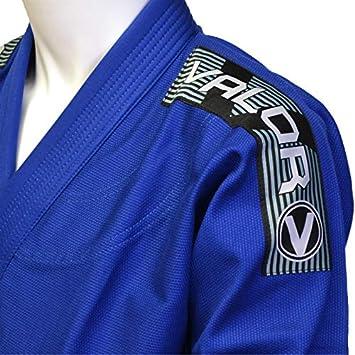 Valor Bravura cintura gratuita Completo blu con cintura bianca 3.0 BJJ GI