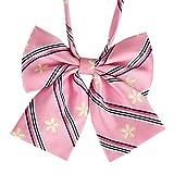 Lovely Sweet School Uniform Bow Tie Waiter Overalls Collar Flower Accessories #7