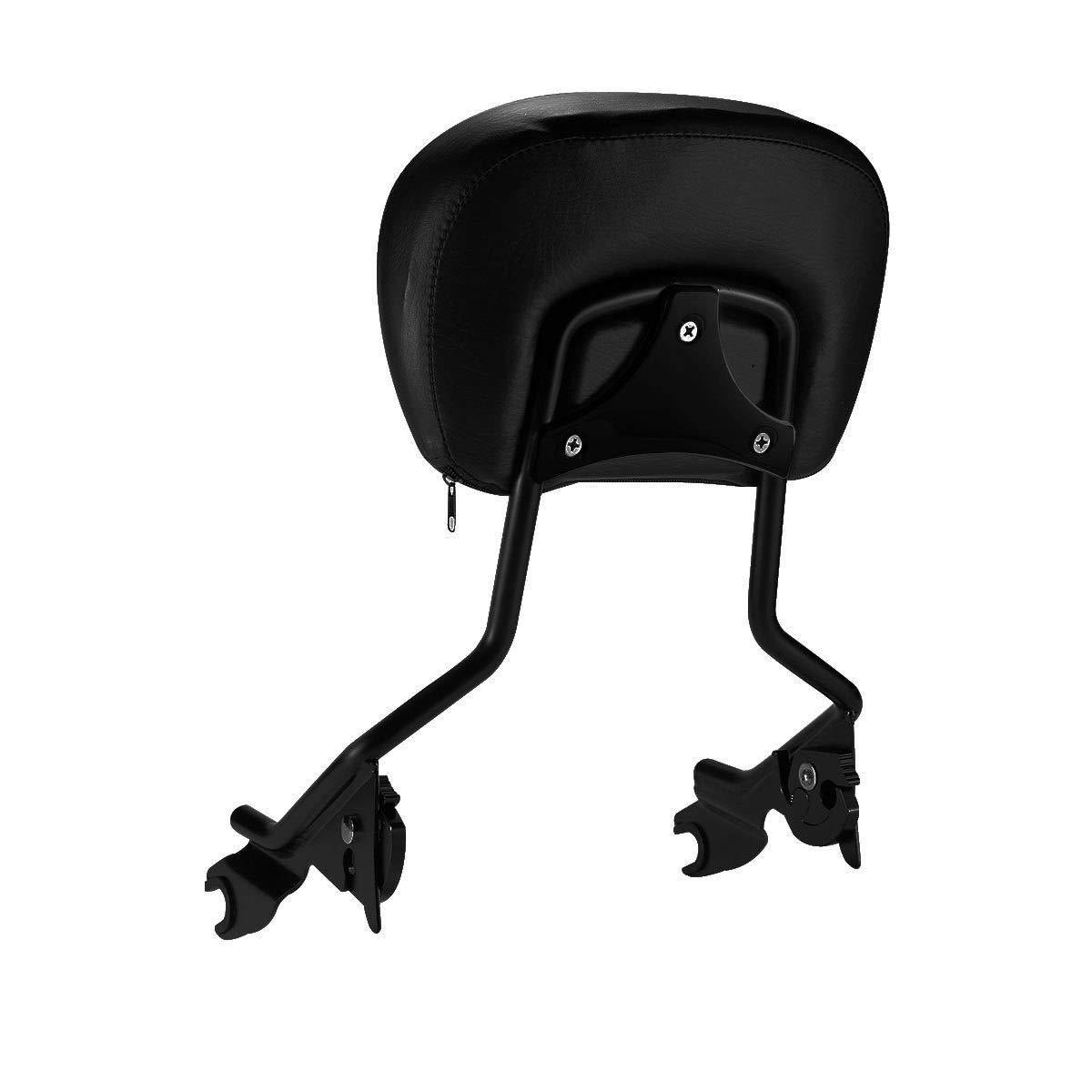 XFMT H-D Detachables Sissy Bar Upright Backrest Sissy Bar For Harley Touring Street Glide Road King 2009-2019