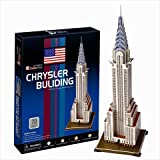 Chrysler Building - New York City, 3D Puzzle Architecture Series Made by CubicFun