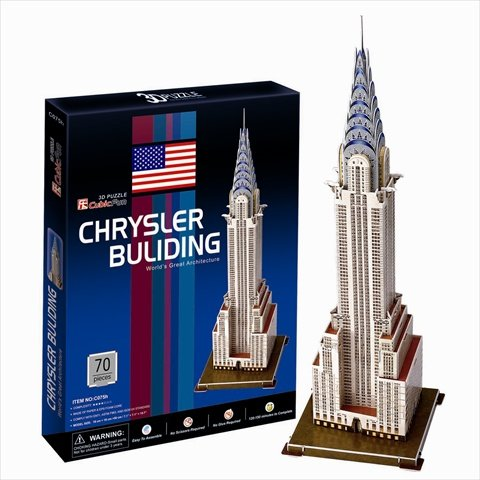 3D立体パズル【世界遺産と世界の大きな建築物】クライスラービル (アメリカ)   B0063BLTIC, 高城町:cfdd2682 --- m2cweb.com