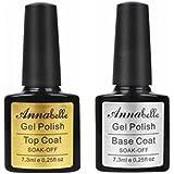 Annabelle Smalto Semipermanente Nail Polish UV LED Gel Unghie (Kit di 4 pcs 7.3ML/pc)