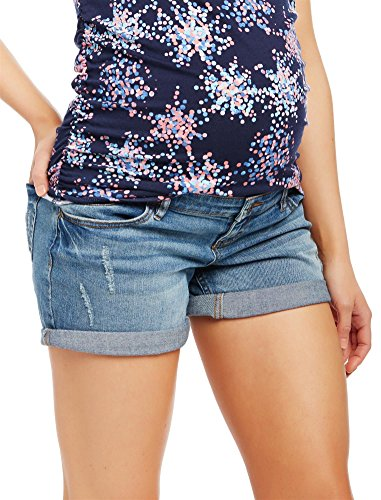 Motherhood Side Panel Roll Hem Maternity Shorts