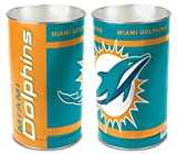 Miami Dolphins 15 Waste Basket