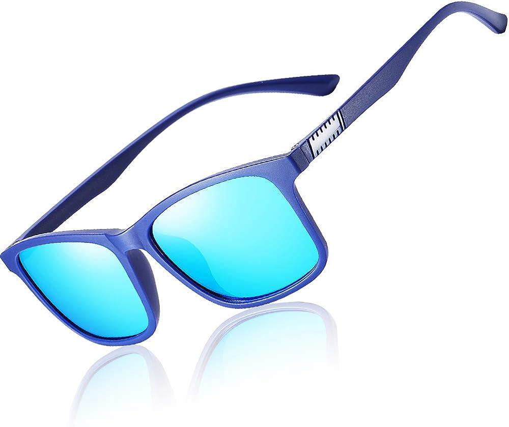 Polarized 80's Retro Classic Trendy Stylish Ray Sunglasses for Men Women