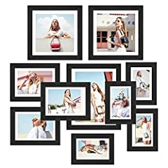 Description: This Homfa Elegant Picture Frames combines stylish style to show your photos perfectly, create a beautiful view for your home. And with the functionality for protecting your pictures, keep your favorite photos looking great for y...