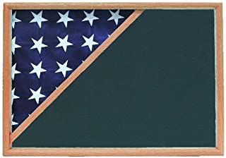 product image for Shadow Box for 5x9.5 Flag, Oak Finish