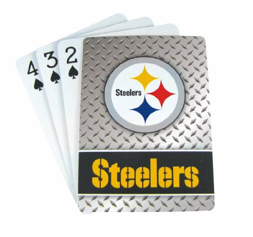 Pittsburgh Steelers Diamond Plate Playing product image