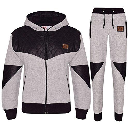 Designer Project (Kids Tracksuit Boys Girls Designer A2Z Project Zipped Top & Bottom Jogging Suit)