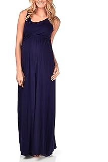 be8d519686e76 PinkBlush Maternity Bohemian Plus Size Maxi Dress at Amazon Women's ...