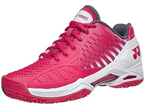 Yonex Power Cushion Eclipsion All Court Women's Tennis Shoe, Dark Pink (10.5)