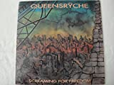 QUEENSRYCHE SCREAMING FOR FREEDOM VINYL LP RECORDED LIVE SWEDEN 1988 TAURUS RECORDS 004 9108 MADE IN ITALY 1991 RARE