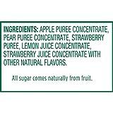 Stretch Island Strawberry Original Fruit Leather Snacks – Vegan   No Sugar Added   Gluten Free   Non-GMO   No Sugar Added - 0.5 Oz Strips (8 Count)
