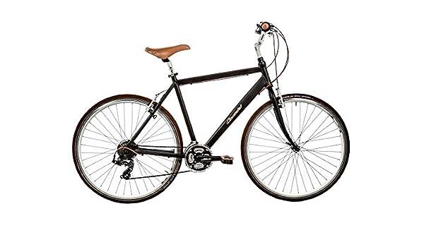 Casadei Bicicleta Clasica - Hibrido Uomo 28 21v 15U, Negro: Amazon ...