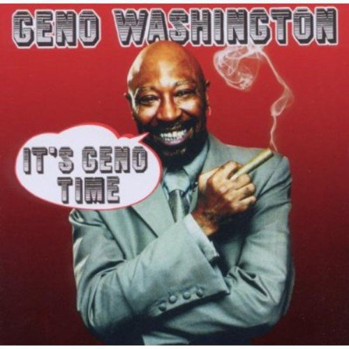 CD : Geno Washington - It's Geno Time (CD)