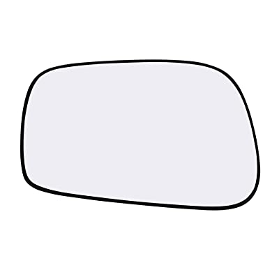 New Replacement Driver Side Mirror Glass W Backing Compatible With Pontiac Vibe Toyota Corolla Matrix Sold By Rugged TUFF: Automotive