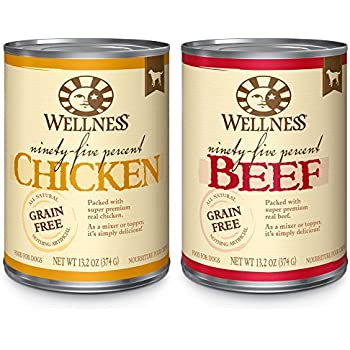 Wellness Core Natural Grain Free Wet Canned Dog Food Ingredients