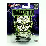 DOUBLE DEMON DELIVERY * FRANKENSTEIN / UNIVERSAL STUDIOS MONSTERS * Hot Wheels 2013 Pop Culture Series 1:64 Scale Die-Cast Vehicle