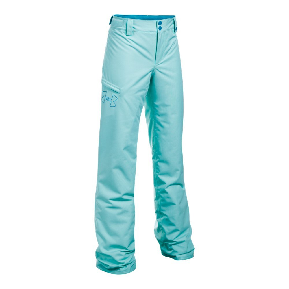 Under Armour Outerwear Girls CG Infrared Chutes Insulated Pants, Blue Infinity/Blue Shift, Medium