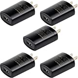 Retevis Charger Adapter 5V 1A USB Adapter Charger for H-777 RT22 RT27 RT21 ( 5Pack)