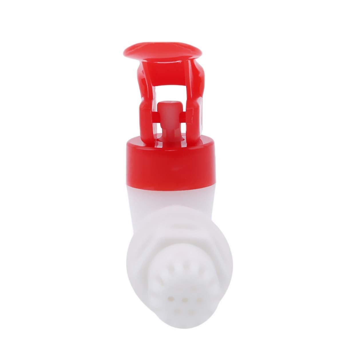 EJY Bricolage Vin La Bi/ère Bouteille En Verre Rouge Plastique Remplacement Robinet Bec De Commutateur DEau Avec Filtre Pour Baril De Vin R/éservoir DEau