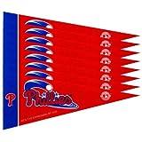 Philadelphia Phillies Mini Pennants - 8 Piece Set