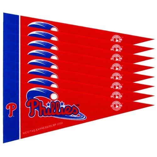 Philadelphia Phillies Mini Pennants - 8 Piece (Philadelphia Phillies Pennant)