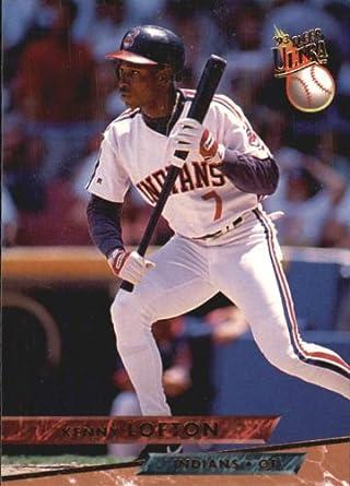 Amazoncom 1993 Ultra Baseball Card 542 Kenny Lofton Mint