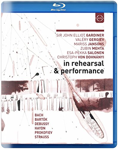 Blu-ray : John Eliot Gardiner - Valery Gergiev - Jansons - In Rehearsal & Performance II (United Kingdom - Import)