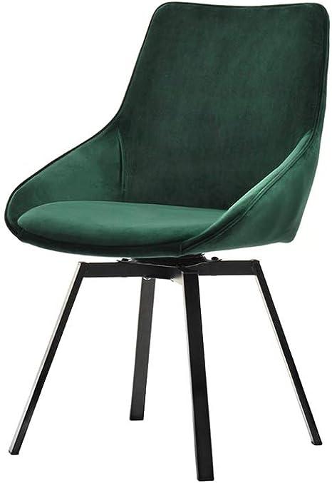 Design Esszimmerstuhl Velours Esszimmer Küche Stuhl Sessel Polsterstuhl grün
