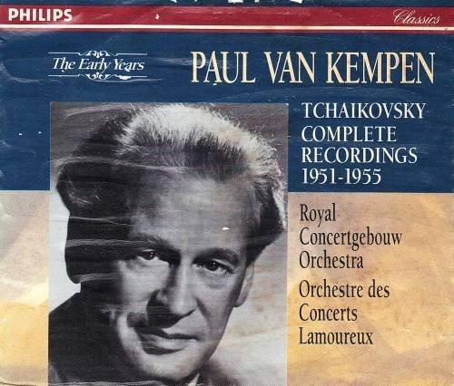 Paul Van Kempen Tchaikovsky Complete Recordings - Paul 1952 Les