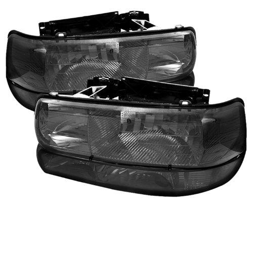 Spyder Auto HD-JH-CSIL99-SET-AM-SM Headlight with LED Bumper Light