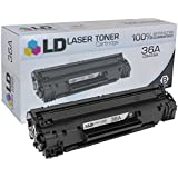 LD © Compatible Replacemen for HP 36A / CB436A Black Toner Cartridge for use in HP LaserJet M1522n MFP, M1522nf MFP, P1505 & P1505n Printers