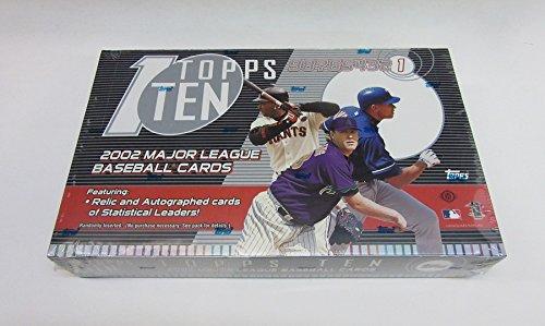 (2002 Topps Ten Baseball Box (Hobby) )