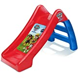 """Paw Patrol Kids/Childrens Official Junior Play Slide Outdoor/Indoor 60cm/24"""" for Baby, Infant and Toddler Boys 10 Months+ Small Plastic Childs Garden Playground Toy Lightweight & Portable Red/Blue"""