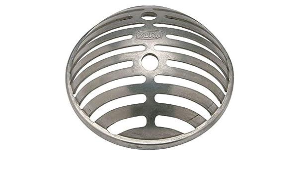 Zurn Aluminum Drain Dome - P1900-semi-dome-alum - - Amazon com