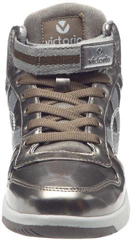Des Formateurs bronze Victoria Chaussure Pu Charol De Femmes Bronze 1Yxq7xd