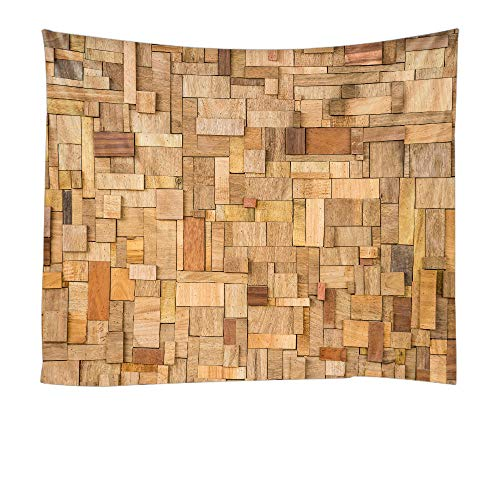- Wood Original Vintage Tapestry Wall Hanging Wall Collage Dorm Bedroom Throw Tapestries
