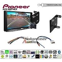 Volunteer Audio Pioneer AVIC-8201NEX Double Din Radio Install Kit with GPS Navigation Apple CarPlay Fits 2012-2014 Nissan Versa